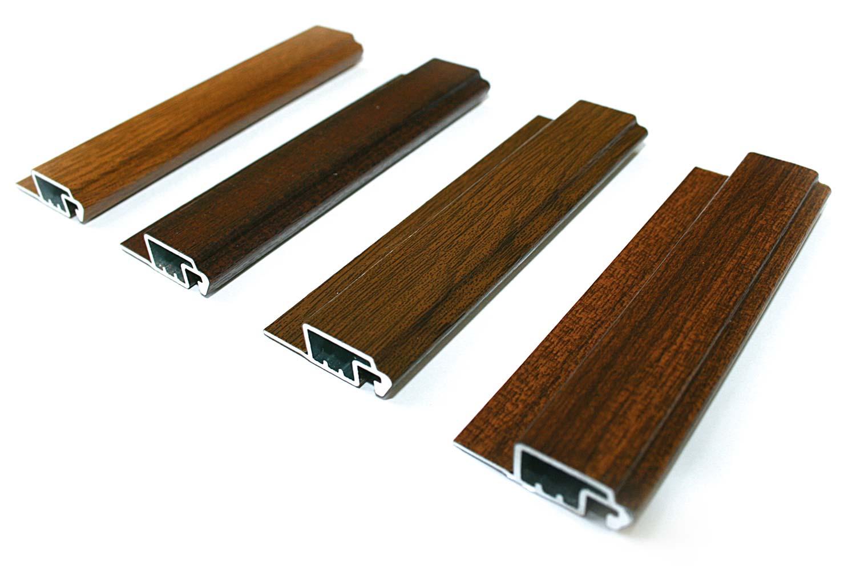 Spannrahmen mit Holzdekor