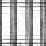 Klarsichtgewebe/Fiberglas schwarz